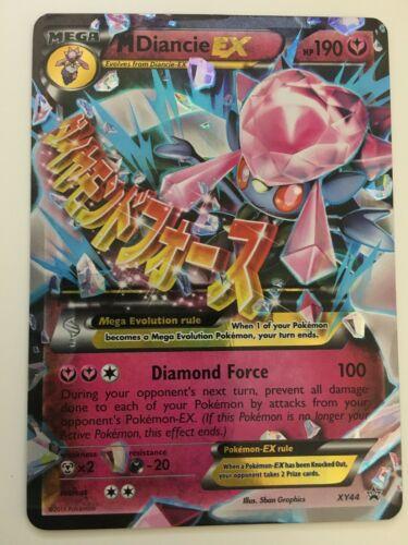 Diancie Legendary EX Ultra Rare Holo Pokemon Card Promo XY43