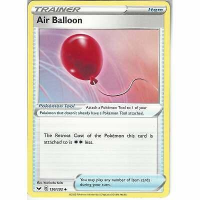 213//202 Air BalloonSecret Rare Card Pokemon TCG Sword and Shield S/&S Base Set
