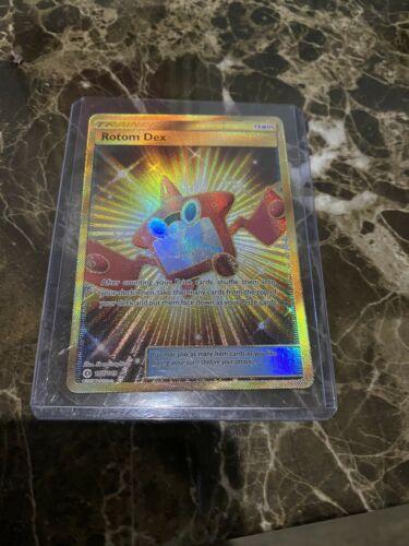 Secret Rare.-  NM//M Pokemon ROTOM DEX 159//149 SM1 Sun /& Moon