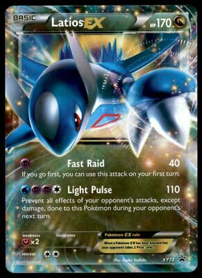 Latios EX NM Promo XY72 Pokemon TCG