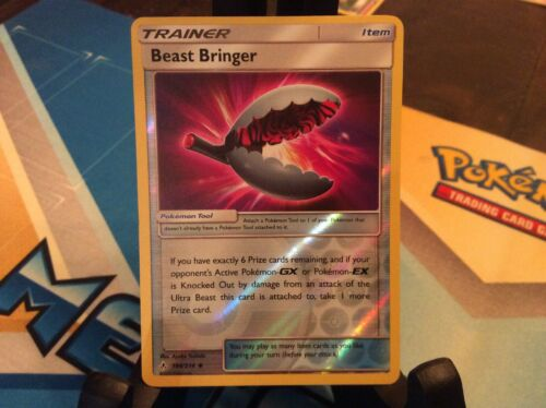 Beast Bringer Reverse Holo 164/214 Pokémon Sun and Moon Unbroken Bonds