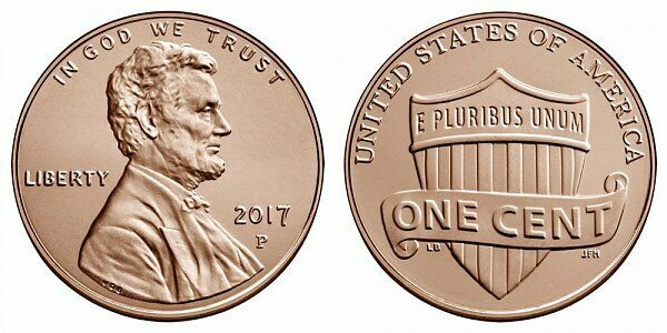 COLORIZED 2011 D LINCOLN SHIELD CENT