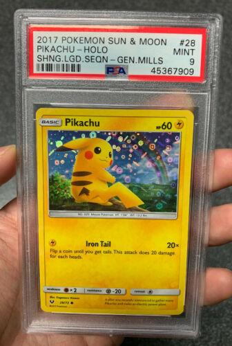 Pokemon PIKACHU 28//73 Shining Legends Promo Holo Foil English NM