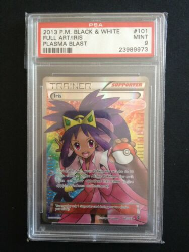 Iris 101//101 Plasma Blast Rare Ultra Mint Pokemon Card