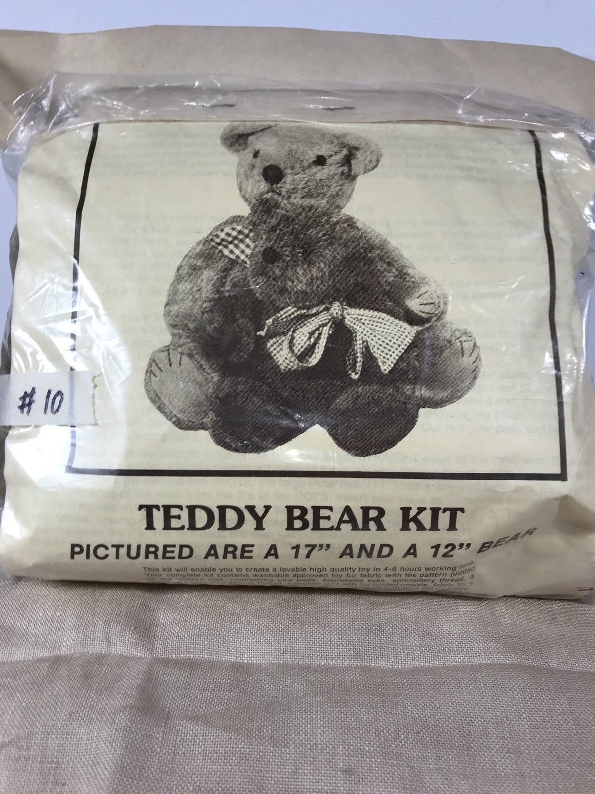 Bear Making Supplies