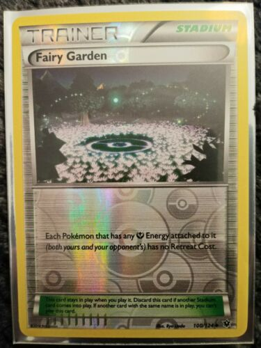 Uncommon Pokemon XY Fates Collide M//NM English 100//124 x4 Fairy Garden