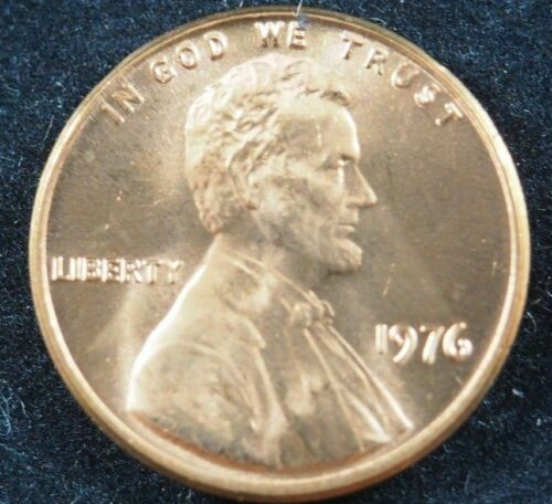 1976-P NGC MS65 RED Lincoln Memorial Cent! #LK