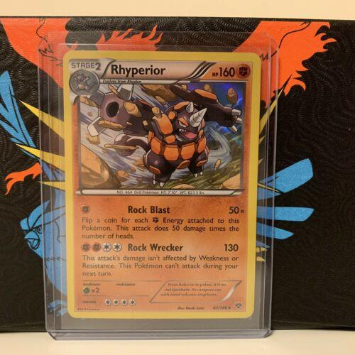 Rhyperior 62//146 Holo Rare Pokemon Card