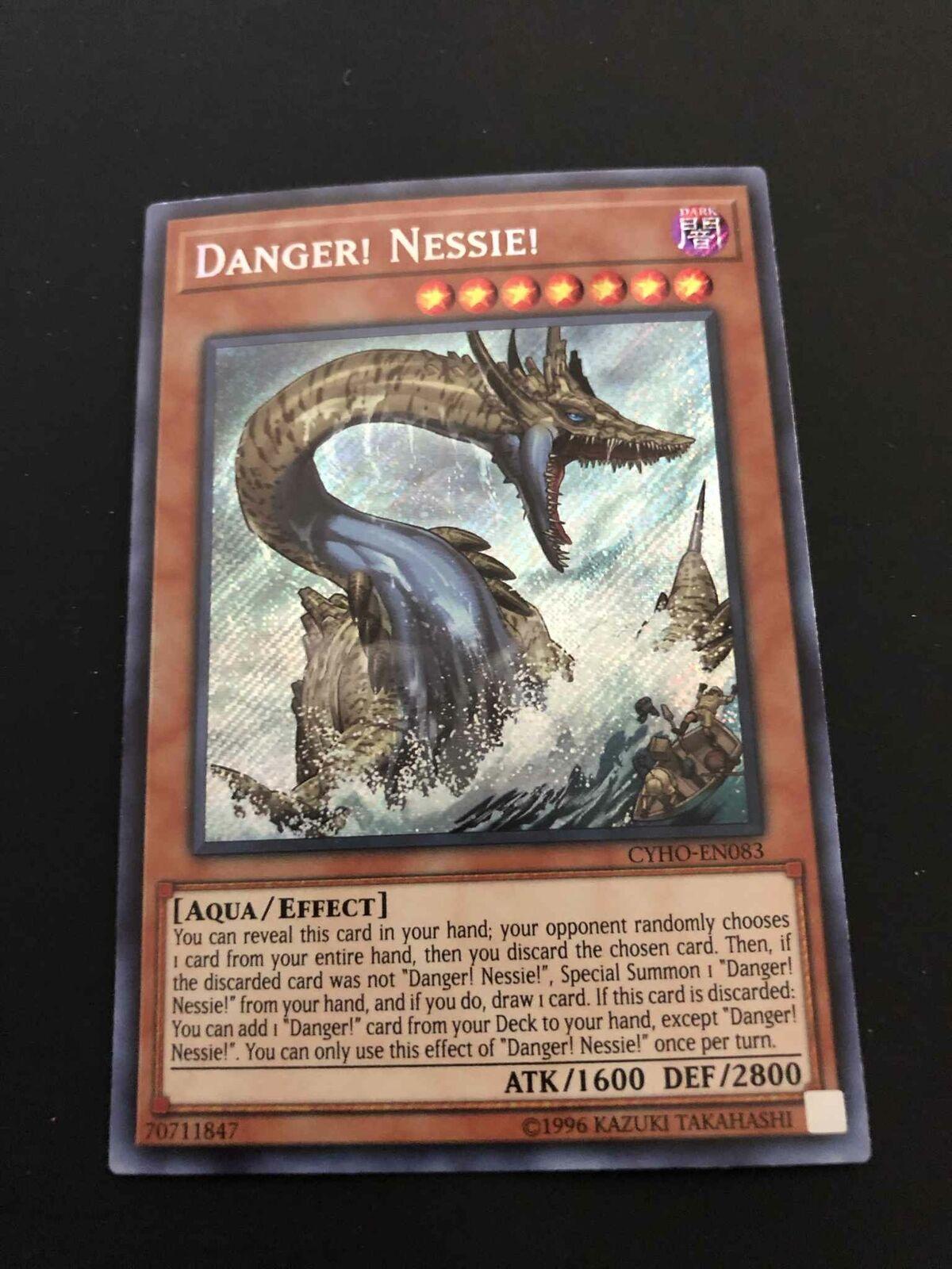 Danger Unlim-EN083 1st Edition SECRET NM X1 Nessie