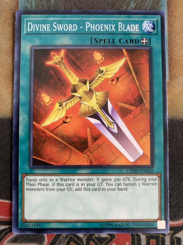 Divine Sword Phoenix Blade SD5-EN018 Common 1st Edition Nr Mint Yu-Gi-Oh