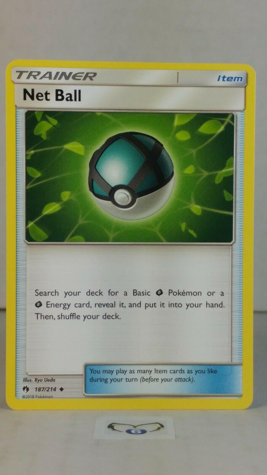 Near Mint//Mint 187//214 Pokemon Card Net Ball