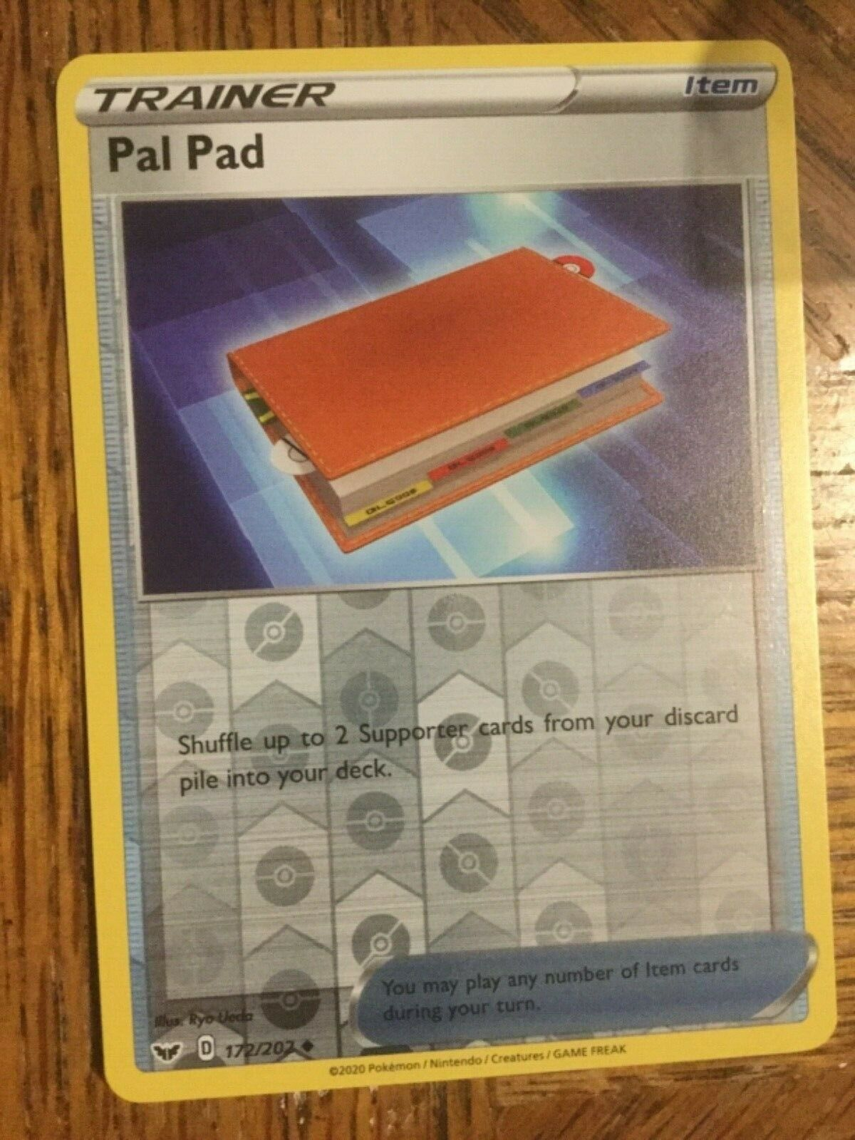 4x Pal Pad 172//202 Uncommon Near Mint Pokemon Sword and Shield