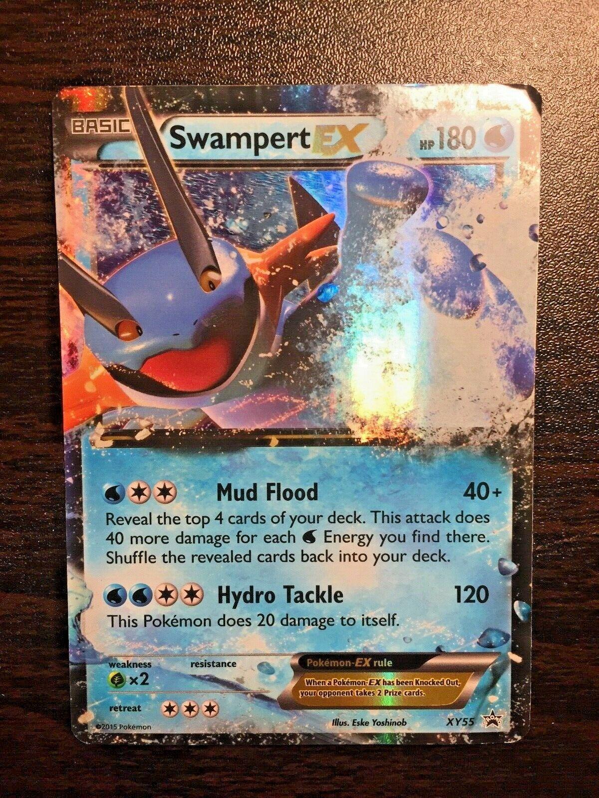 Swampert EX XY55 Pokemon XY Black Star Promo