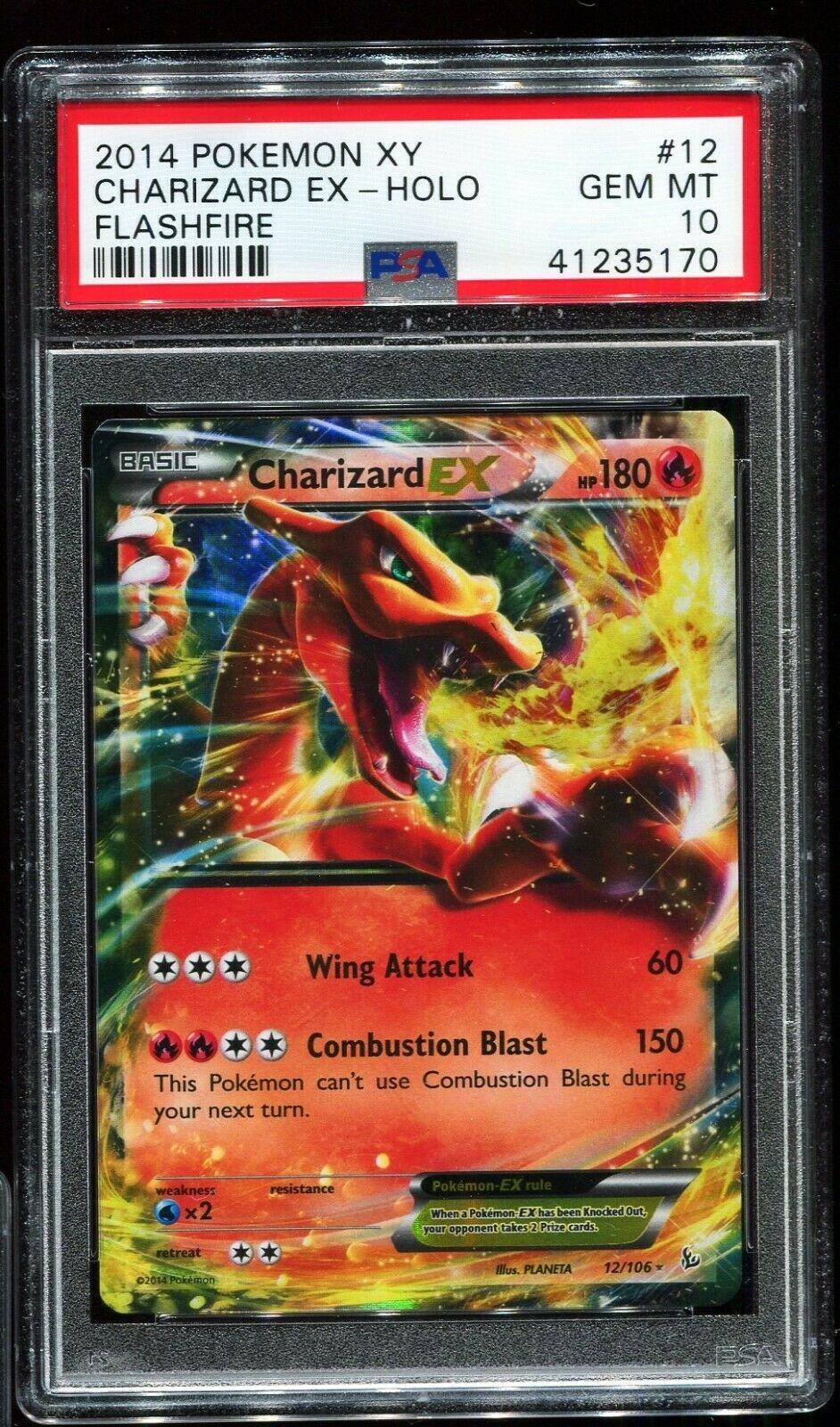 Charizard EX 12//106 XY Flashfire Half Art