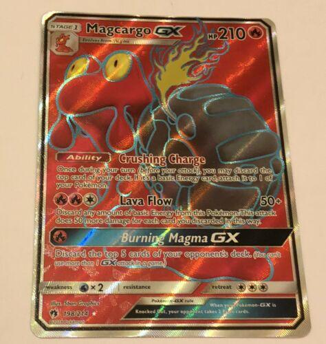 SM Lost Thunder Magcargo GX 198//214 Pokemon Full Art