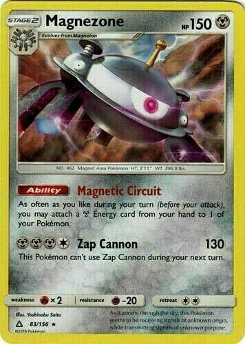 83//156 Ultra Prism-Reverse-De NM Pokemon Magnezone