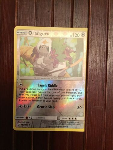 182//236 OranguruUncommon Reverse Holo CardPokemon SM11 Unified Minds TCG