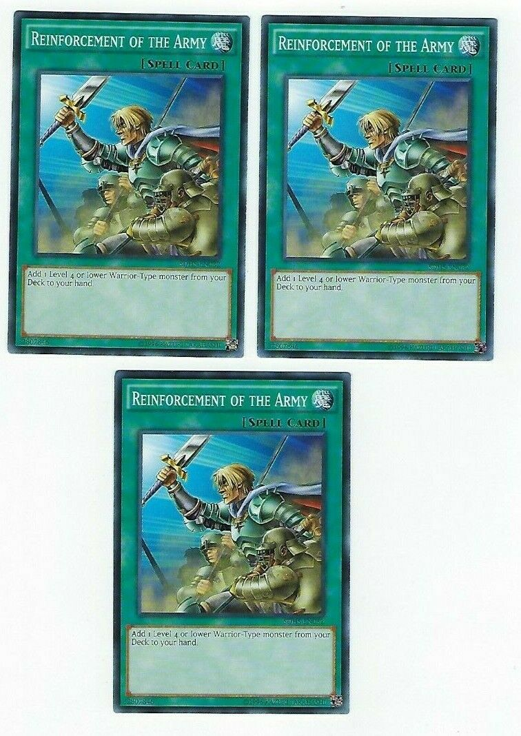 Common 3x Reinforcement of the Army Near Mint 1st Edition SDHS-EN032
