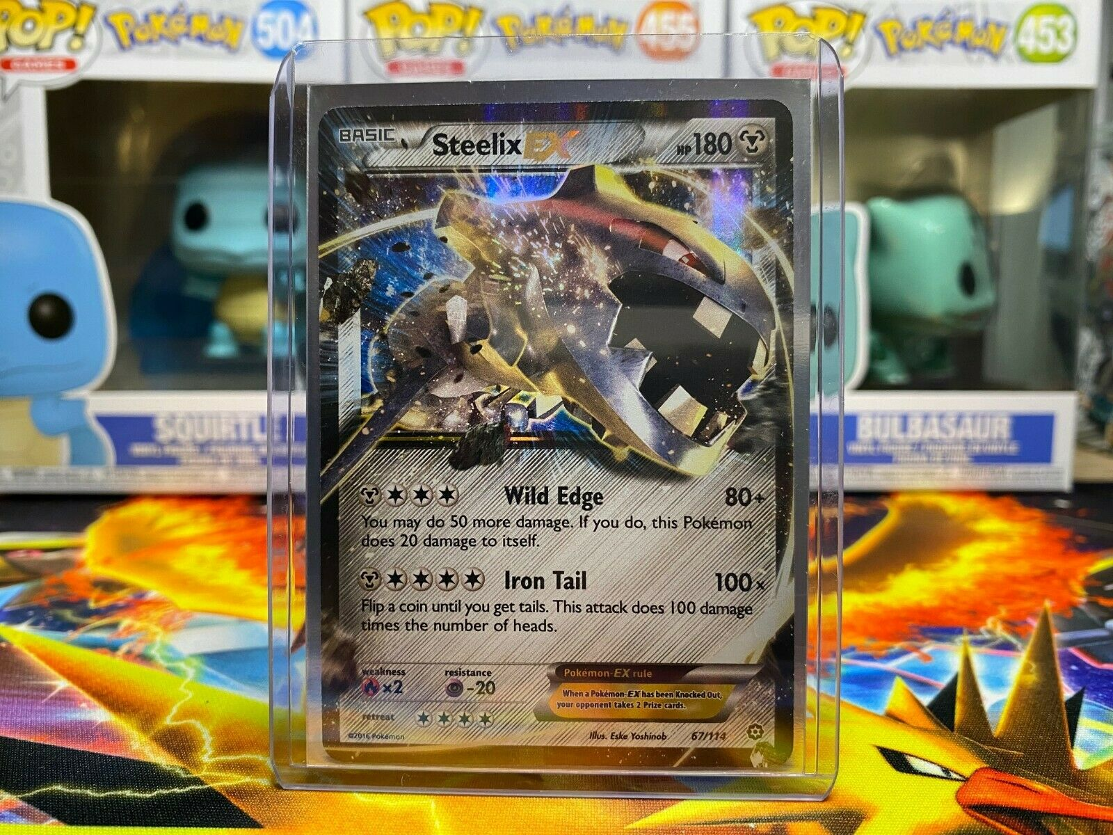 Steelix ex 67//114 XY Steam Siege Ultra Rare Pokemon Card