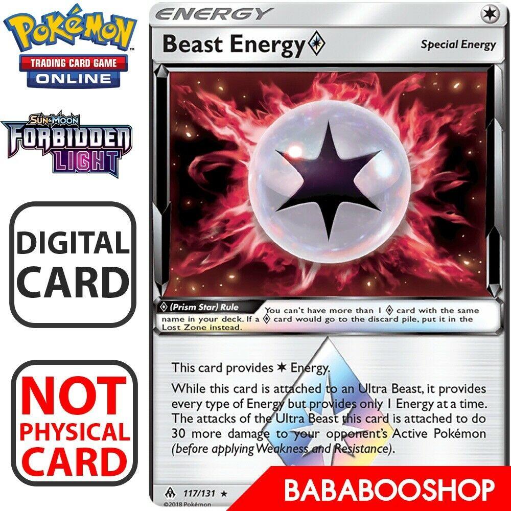 Beast Energy Prism Star SM Forbidden Light 117//131 NM//MT
