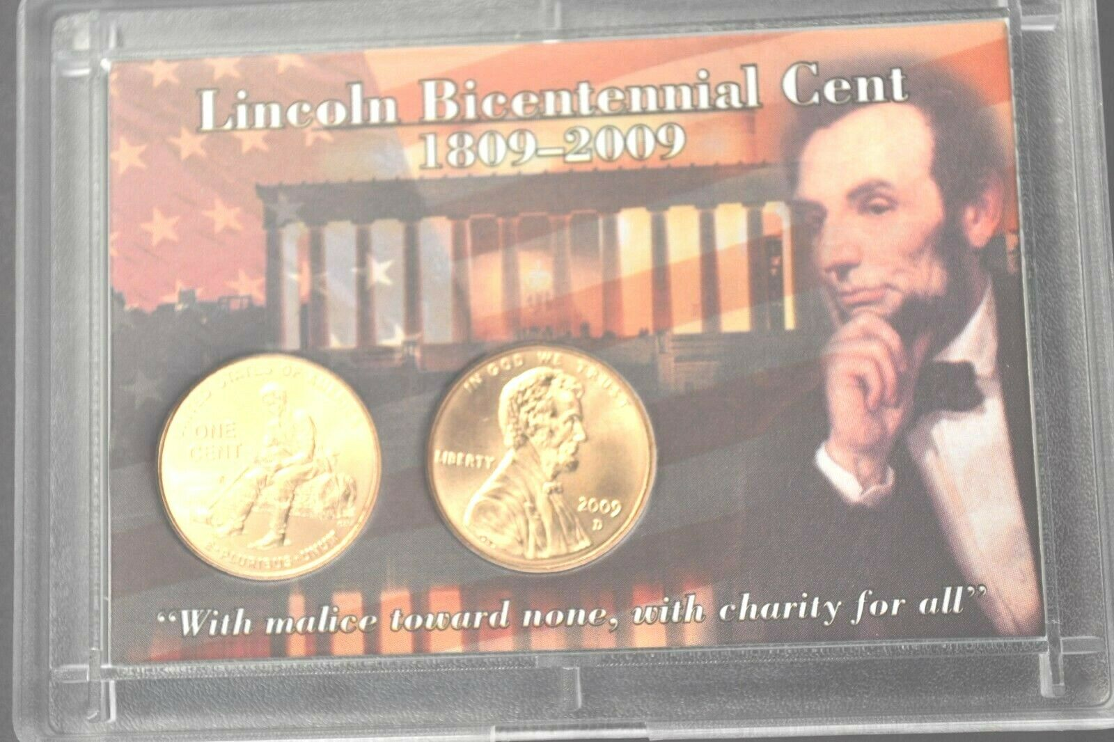 2009 P /& D Lincoln Formative Years 1c Cent 2 Coin Set PCGS SP68RD Satin Finish
