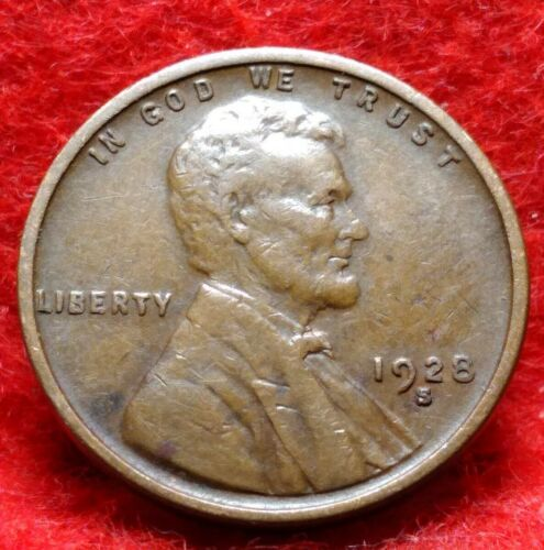 1928 P Lincoln Cent Penny *AU ABOUT UNCIRCULATED*  *FREE SHIPPING*