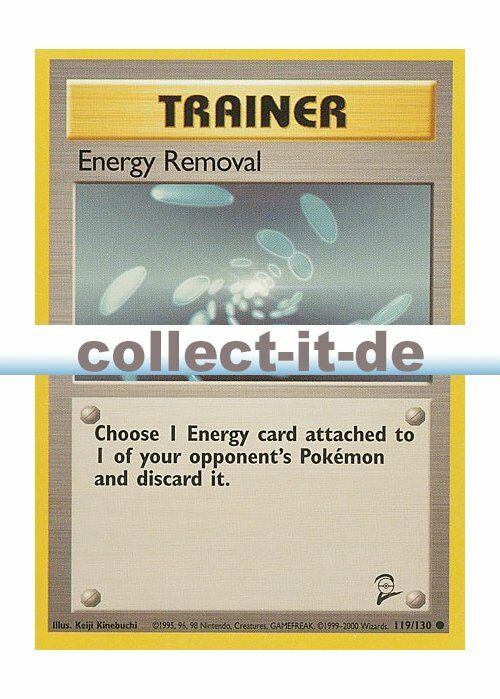 NEAR MINT Common Energy Removal 119//130