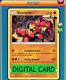 Buzzwole 77/131 Forbidden Light PTCGO Online Digital Card