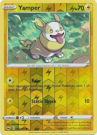 JAPANESE Pokemon Cards Yamper 020 Boltund 021//060 S1W Sword NM//M