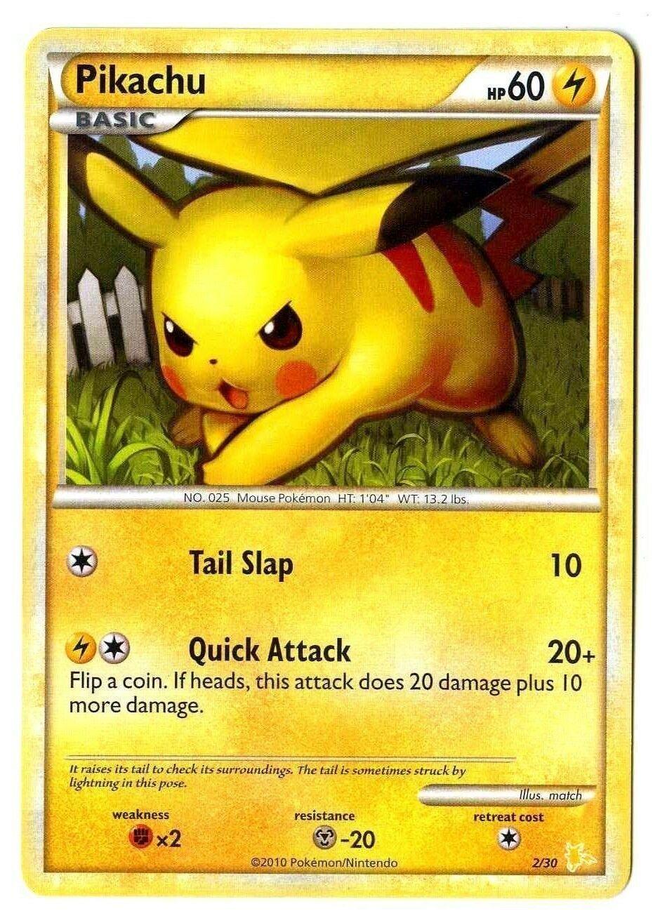 HGSS Pikachu 78//123 DE NM