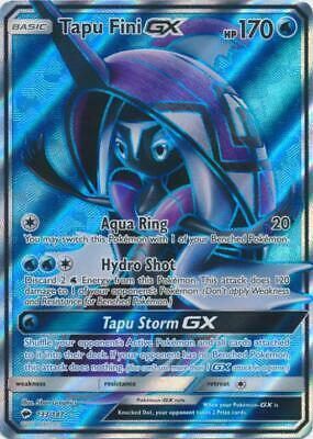 English SV92//SV94 Pokemon Tapu Fini GX Secret Rare NM-Mint