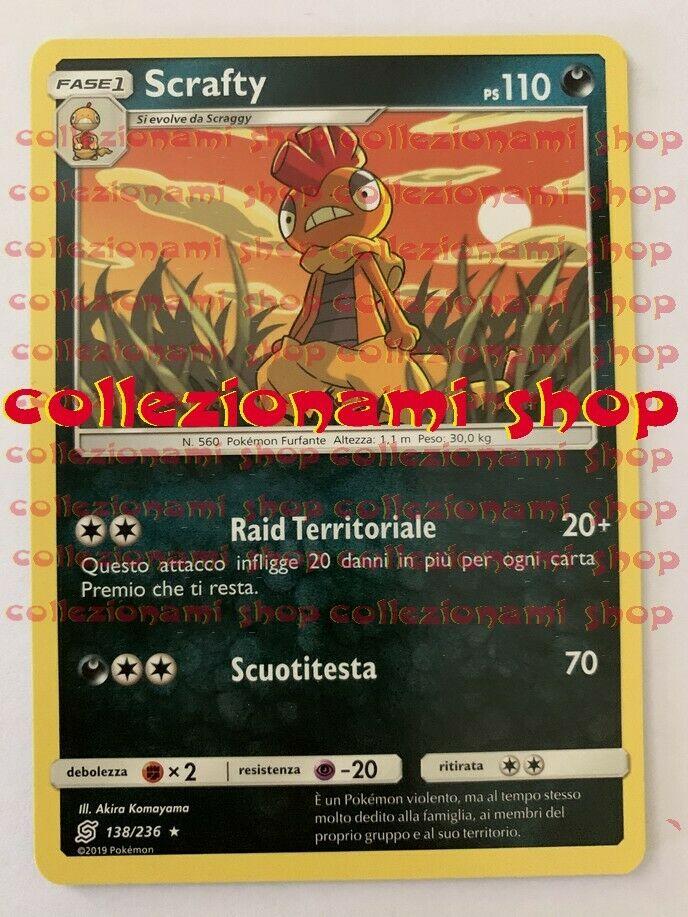 138/236 Scrafty - RARA - SINTONIA MENTALE - CARTA IN ITALIANO - COLLEZIONAMI