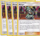 Pokemon 4x Morgan Trainer x4 Play Set Card 149/181 Sm Team up