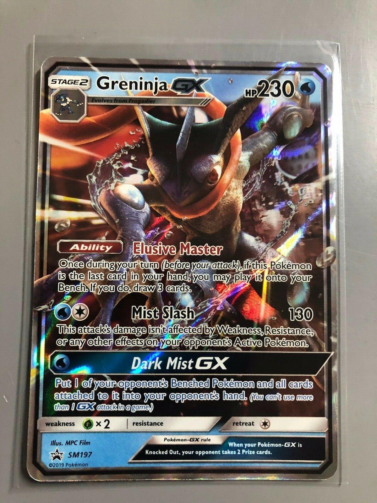 SM196 Promo NM Promo Pokemon Sun /& Moon Promos 3Q6 Mewtwo GX