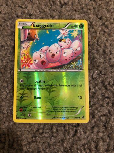 4x Exeggcute 1//108 Pokemon TCG card XY Roaring Skies common NM