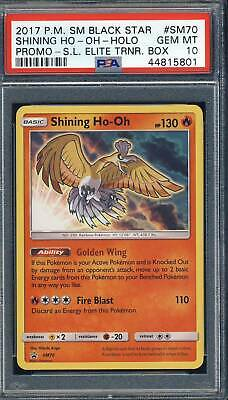 Pokemon Card   SHINING HO-OH  Ultra Rare PROMO  SM70  SUN and MOON  **MINT**