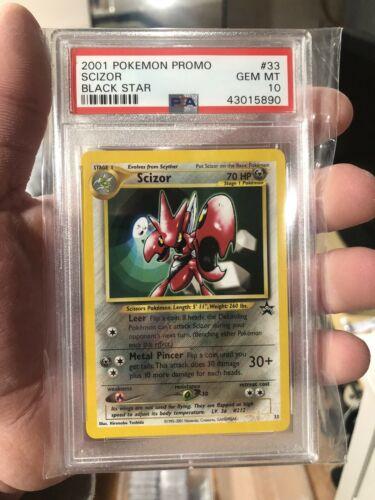 #33 SCIZOR NM POKEMON BLACK STAR PROMO CARD