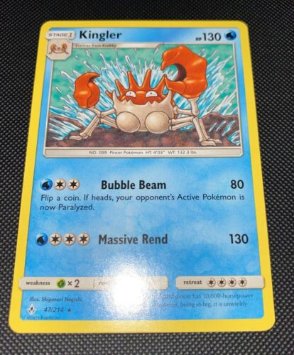 Pokemon - Kingler - 47/214