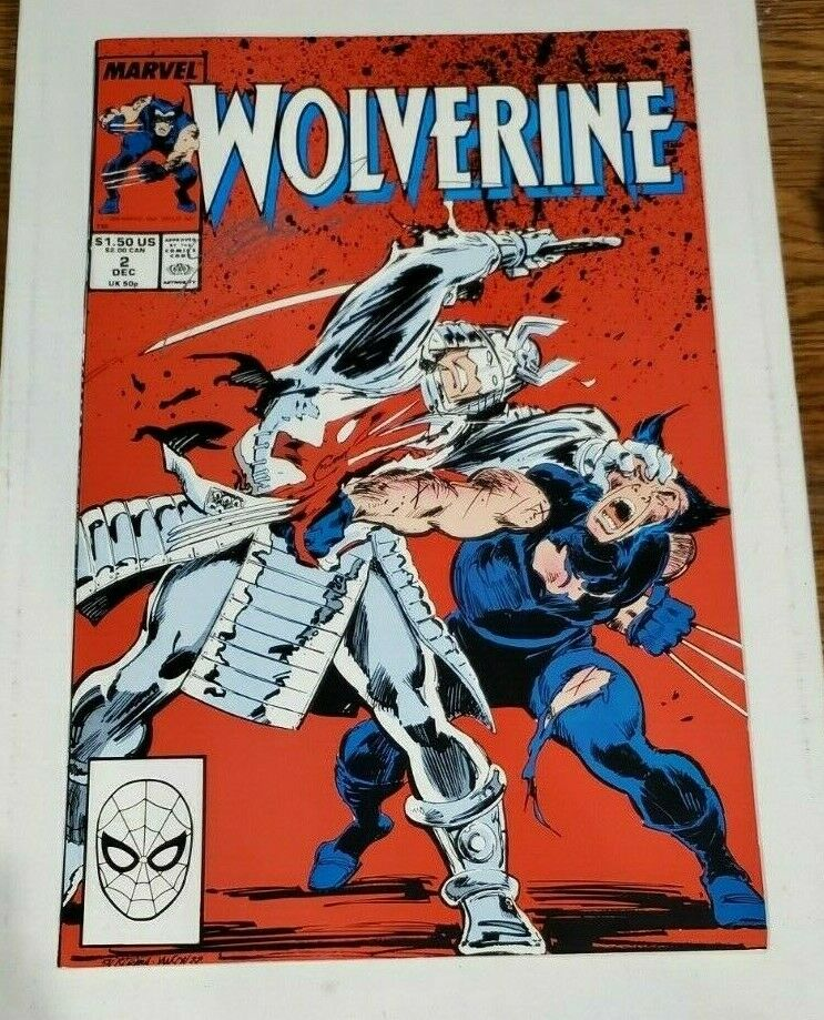 WOLVERINE #2 NEAR MINT MARVEL COMICS 1988 2nd SERIES