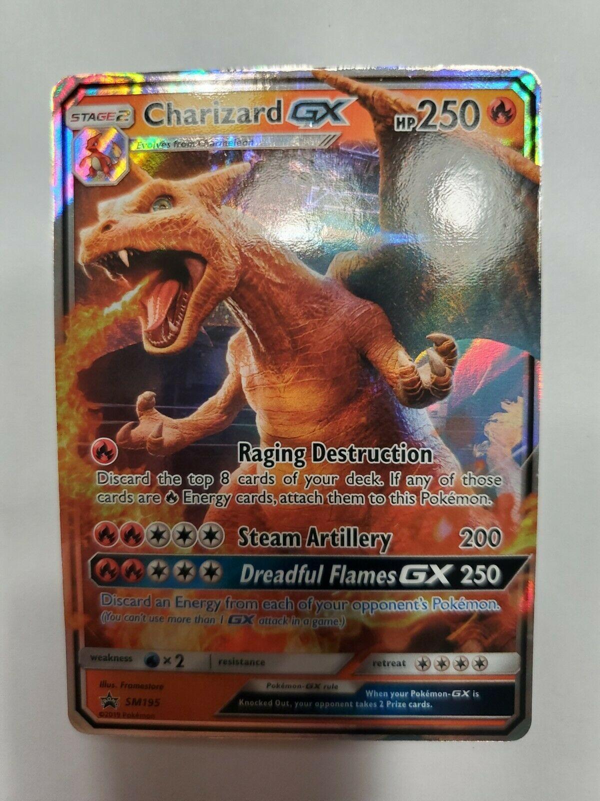 Toys Hobbies Charizard Gx Sm195 Pokemon Nm M Jumbo Promo