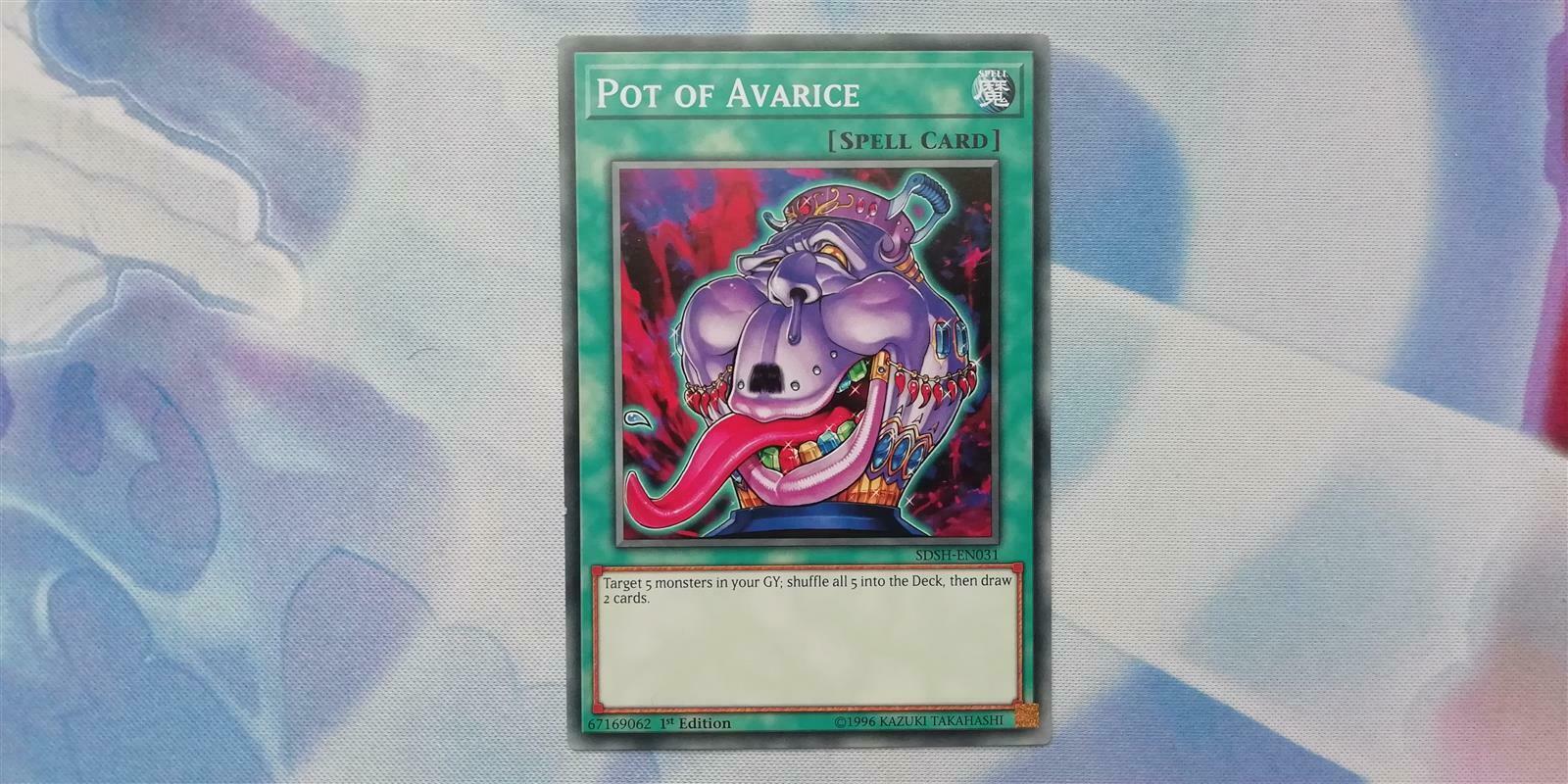 Pot of Avarice EEN-EN037 Super Rare 1st NM Yugioh