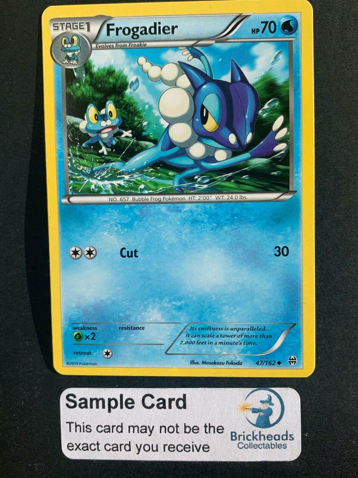 Shiny Holo Rare NM-Mint Pokemon SM06 Forbidden Light 1x Froakie SV11//SV94