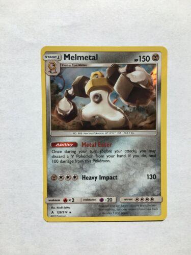 Pokemon - Melmetal - Unbroken Bonds- 129/214 - Holo