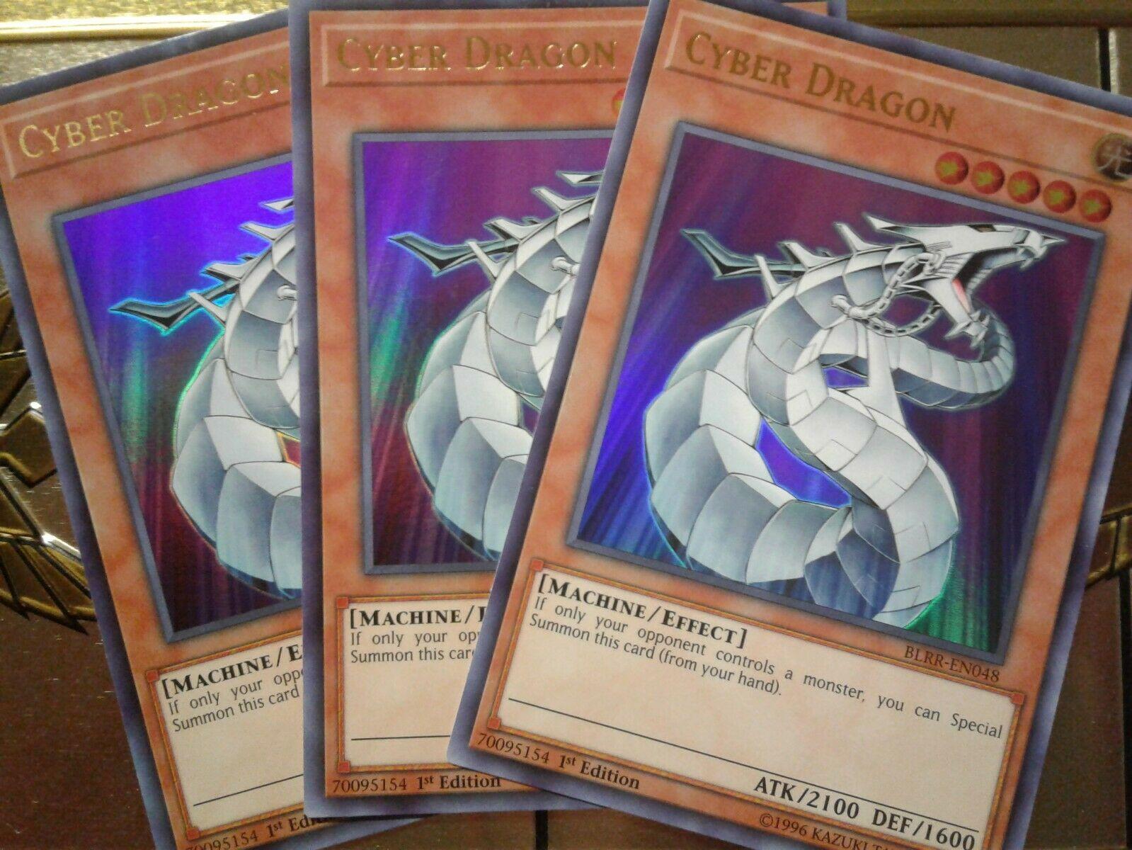 Edition Cyber Dragon BLRR-DE048 ULTRA RARE 1