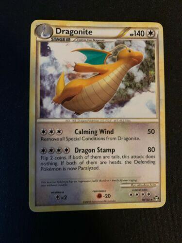 Dragonite 18//102 rare Pokemon-HGSS ryze-inglés nm//Mint