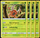 Pokemon - SM9 - Team Up - 4x Pinsir - 9/181 - Non Holo Rare - NM/M