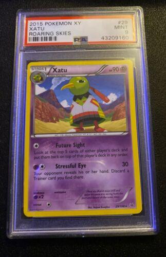 Xatu 90pv 29//108 XY Ciel Rugissant Carte Pokemon Rare neuve fr