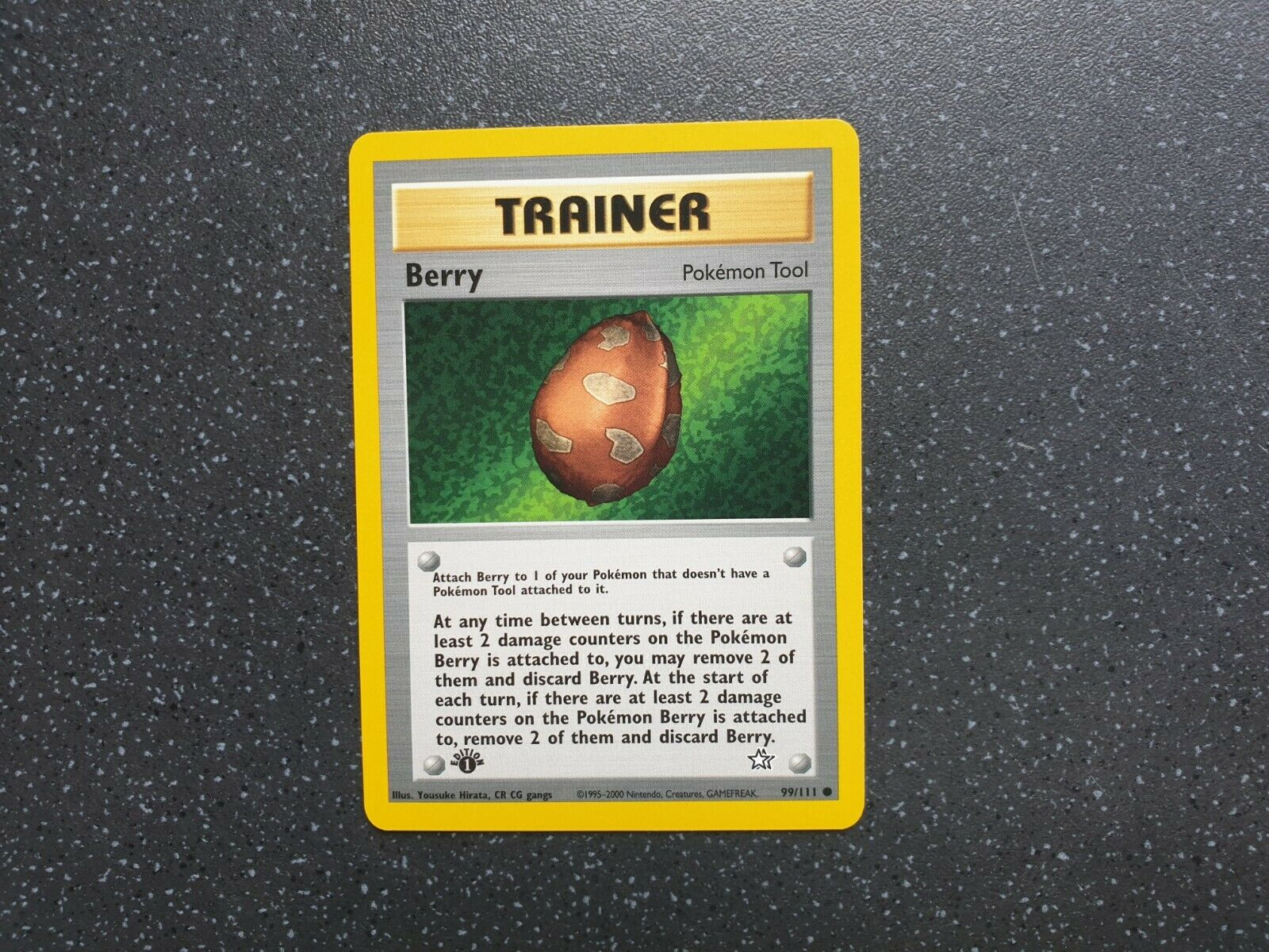 LP Wizards Berry 99//111 Common Pokemon Card Neo Genesis Set 2000