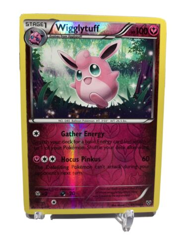 Wigglytuff 89/146- Reverse Holo- XY Base Set- Pokémon- *Near Mint - Image 1
