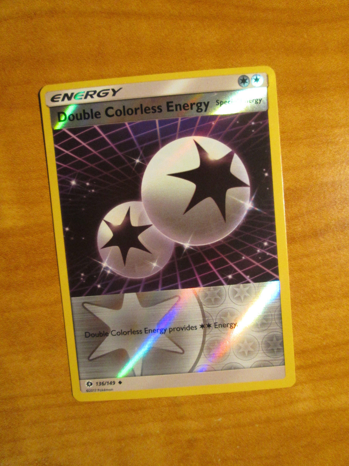 Pokemon Card Double Colorless Energy 136//149 Excellent Sun /& Moon